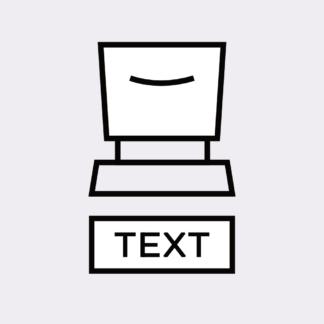 Text Stempel
