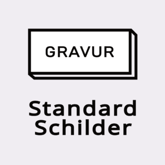 Standard Gravurschilder