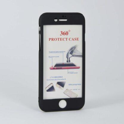 360° Schutzhülle mit Panzerglas fürs iPhone 7